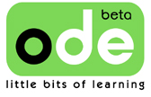 ODE beta logo